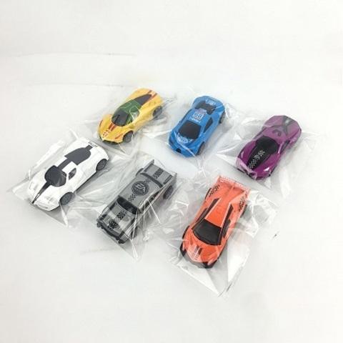 Машина инерционная, металлическая, 6 видов (в пакете)