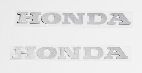 Наклейка надпись Honda (2 шт.)