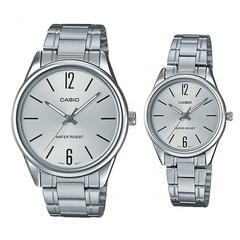 Парные часы Casio Standard: MTP-V005D-7B и LTP-V005D-7B