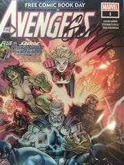 Free Comic Book Day 2019 (Avengers/Savage Avengers) #1 с автографом Джерри Даггана