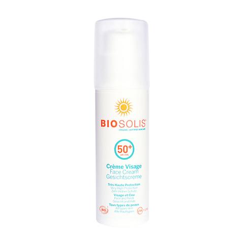 Крем солнцезащитный для лица SPF50+ | Biosolis