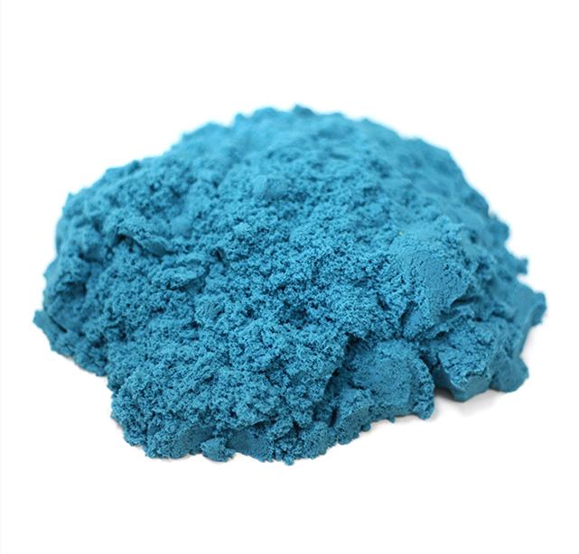 Кинетический песок. Голубой 1 кг