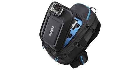 Рюкзак для экшн-камер GoPRO Thule Legend с камерой открытый