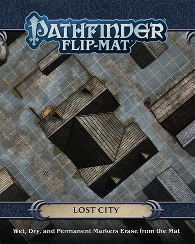 Pathfinder. Flip-Mat Lost City