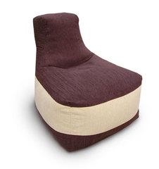 Кресло трон Кофе с молоком