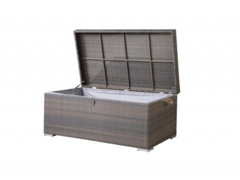 Ящик для хранения вещей плетеный «Монте-карло», серо-коричневый (4SIS)