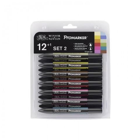 Набор маркеров W&N PROMARKER SET2 12шт