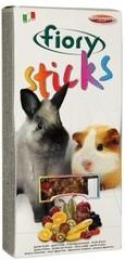 Палочки для кроликов и морских свинок FIORY Sticks с фруктами 2х50 г