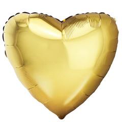 F Сердце,  Античное Золото, 18