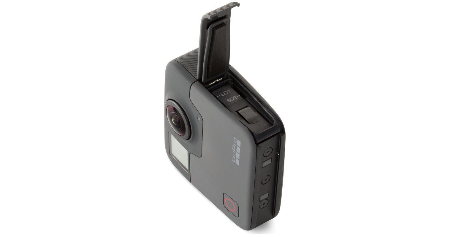 Панорамная камера GoPro Fusion 360 (CHDHZ-103) открыт отсек