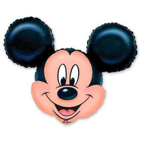 Фольгированная фигура Микки Маус голова