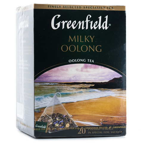 "Чай ""Greenfield"" Milky Oolong 20 пирамидок по 1,8г"