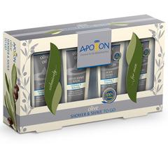 Подарочный набор мужской для бритья и душа, Aphrodite