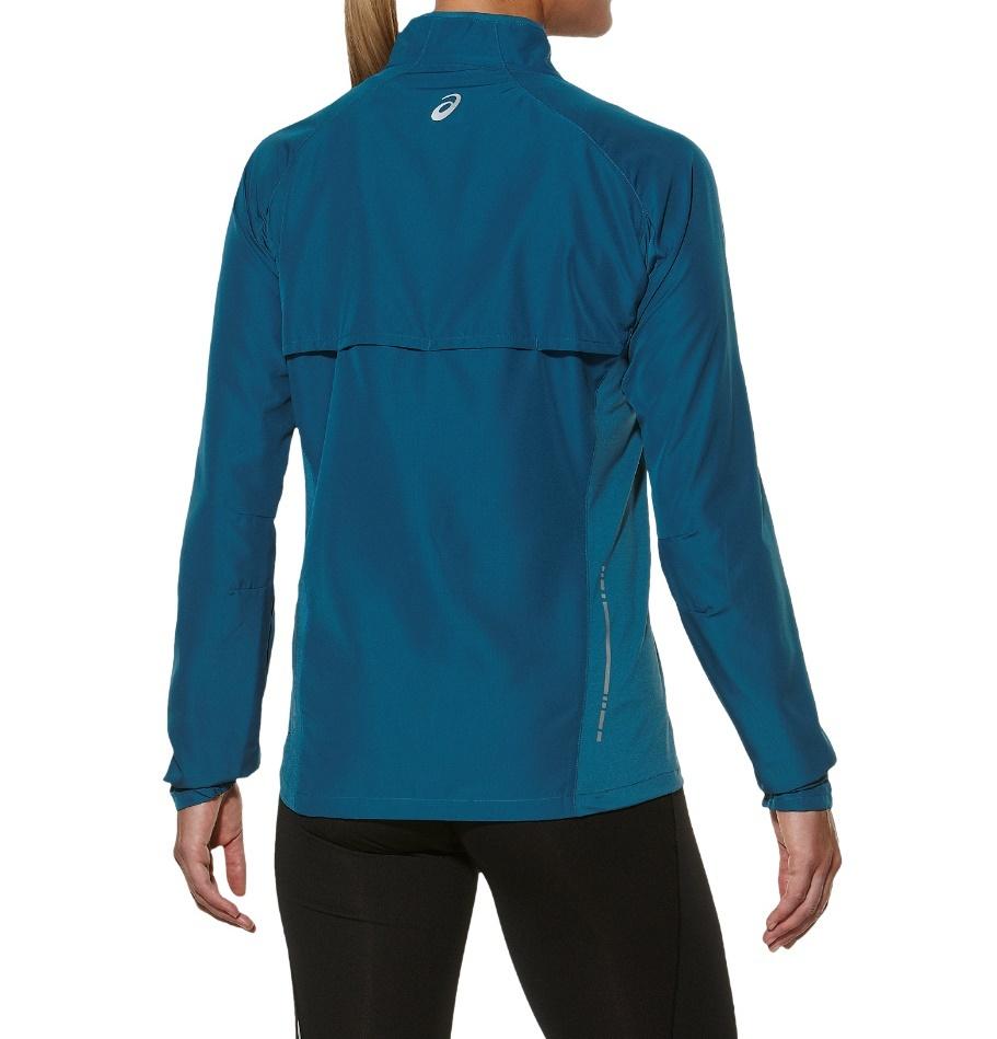 Женская ветровка асикс Woven Jacket (110426 8123) синий