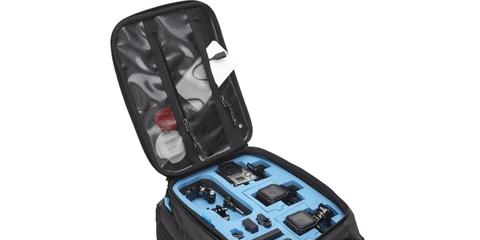 Рюкзак для экшн-камер GoPRO Thule Legend пример с аксессуарами