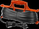 Удлинитель STAYER MASTER электрический на рамке