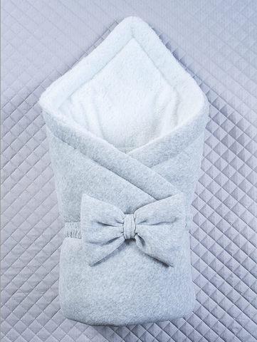 Зимний конверт одеяло Маленькие стиляжки (серый)