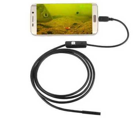 Водонепроницаемая эндоскопическая камера для Android 5,5...3,5 мм