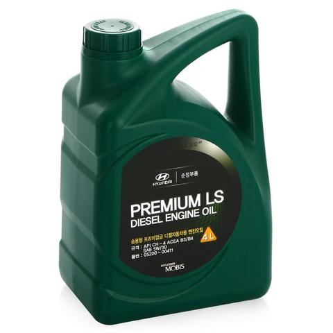 Масло моторное Hyundai PREMIUM LS DIESEL ENGINE OIL 4л. SAE5W30 п/синт. 0520000411
