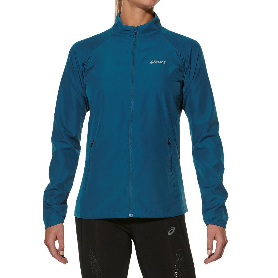 Женская ветровка Asics Woven Jacket (110426 8123) синий фото