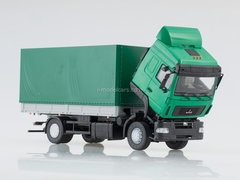 MAZ-5340 flatbed restyling green 1:43 AutoHistory used