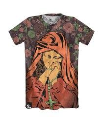 Мужская футболка с принтом Libertee Virgin Mary