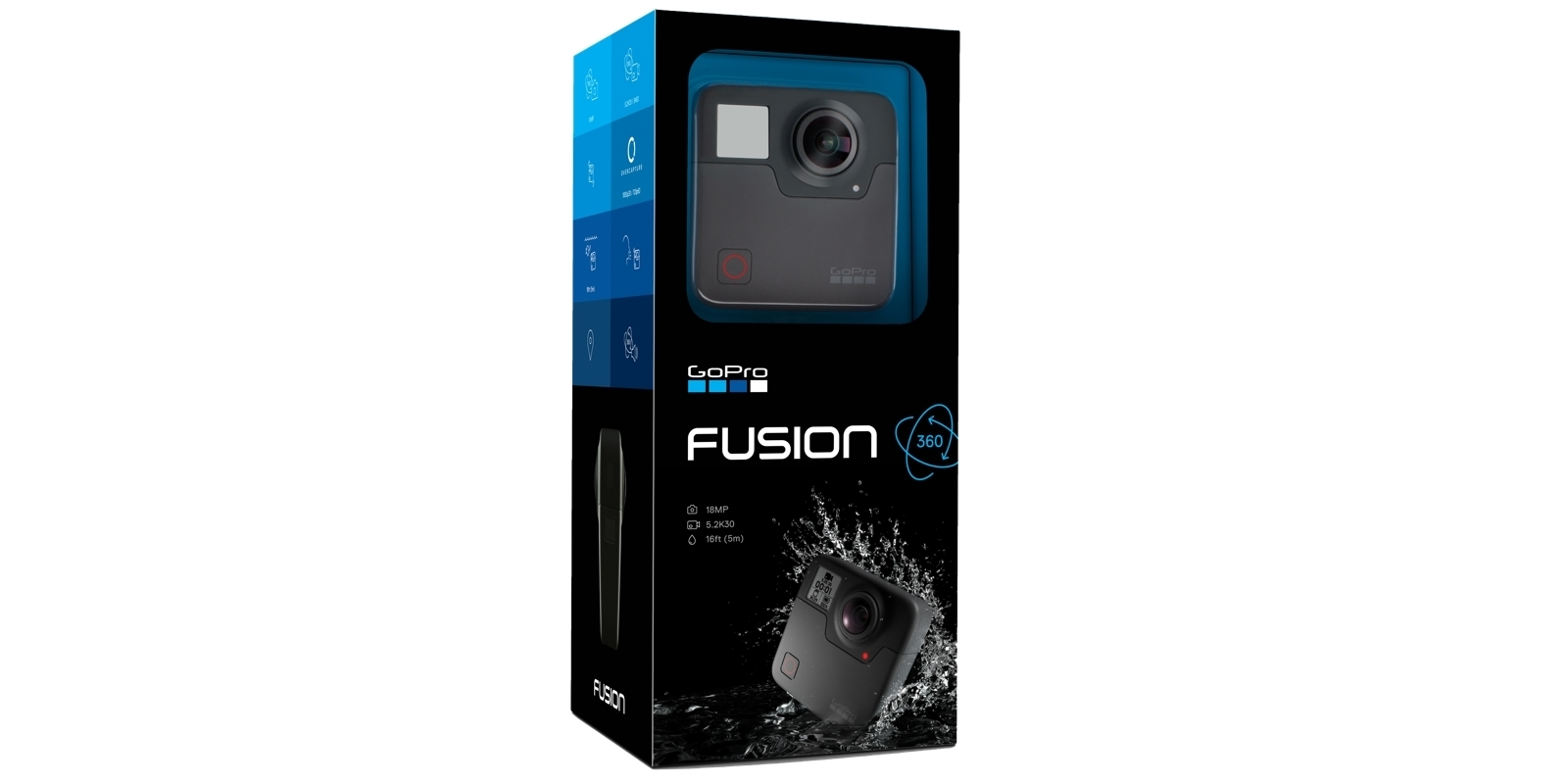 Панорамная камера GoPro Fusion 360 (CHDHZ-103) в коробке