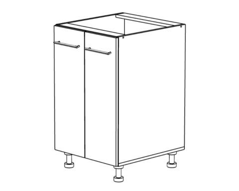 Стол кухонный ТОКИО под мойку 500
