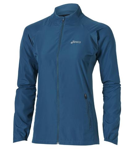 Ветровка женская Asics Woven Jacket синий
