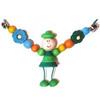 """Растяжка для коляски """"Клоун зелёный"""""""