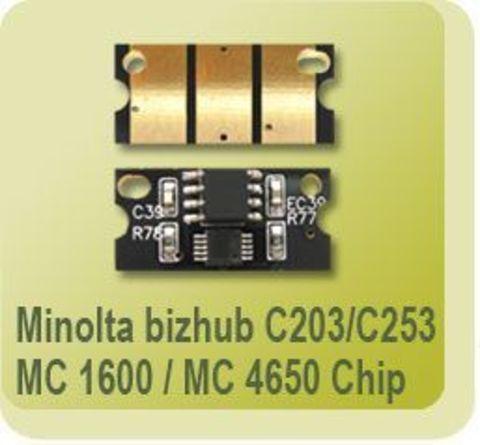 Смарт-чип Konica Minolta Magicolor 1600W/1690 CMYK (универсальный) chip