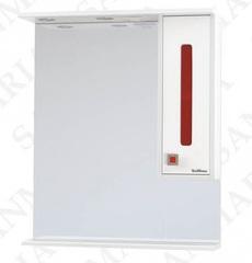 Зеркало-шкаф SanMaria Париж-70 красный, правый