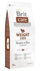 Корм для собак склонных к полноте, Brit Care Weight Loss, с кроликом и рисом