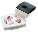 Противоаэрозольный Фильтр 3M™ 6035, Р3 (для многоразовой полумаски 3M™ 7502)апахов кислых газов, FFP2 NR D, с клапаном выдоха, комплект 2 шт.
