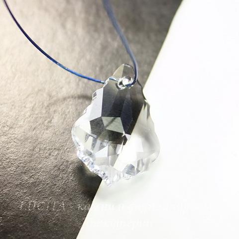 6090 Подвеска Сваровски Baroque Crystal  (16х11 мм)