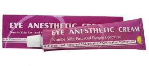 Охлаждающий крем для кожи вокруг глаз Eye Anesthetic Cream (Айз анестетик крем) 30 мл