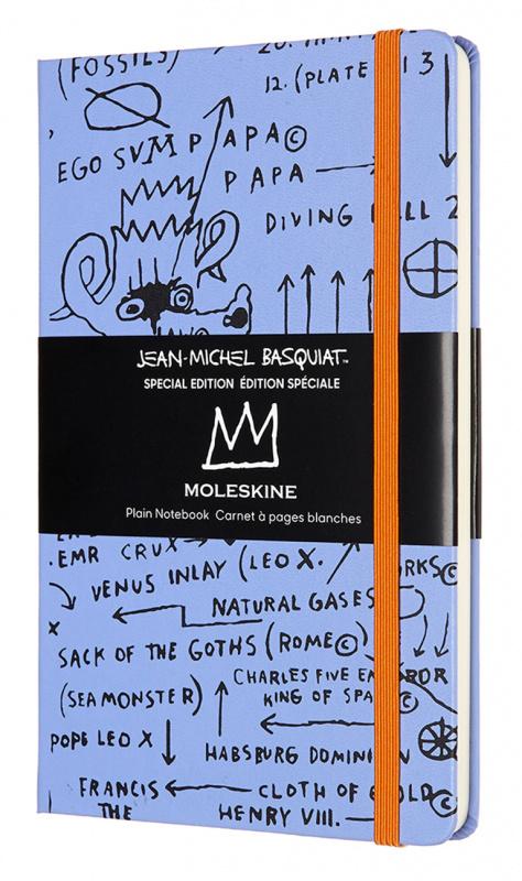 Блокнот Moleskine Limited Edition Basquiat, violet