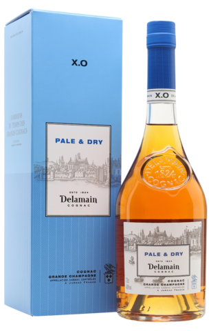 Delamain Pale & Dry XO картон