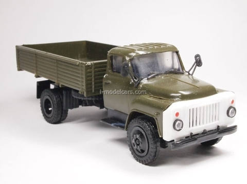GAZ-53 board khaki Kompanion 1:43