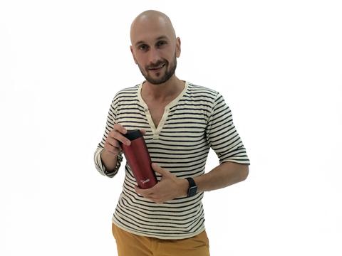 Термокружка el Gusto «Grano» красная 470 мл