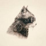 Наволочка &#34Супер кот&#34, артикул 9000, производитель - Матренин Посад