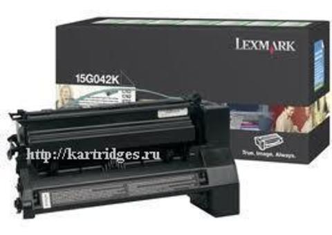 Картридж Lexmark 15G042K