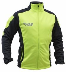 Лыжная разминочная куртка Ray Pro Race WS Lime-Black мужская