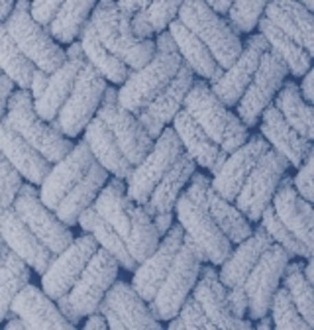 Пряжа Puffy (Alize) 374 Голубой - изображение