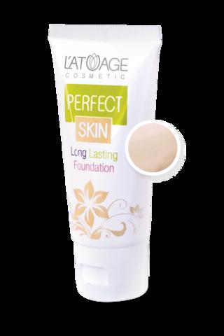 L'atuage Perfect skin Тональный крем тон №100