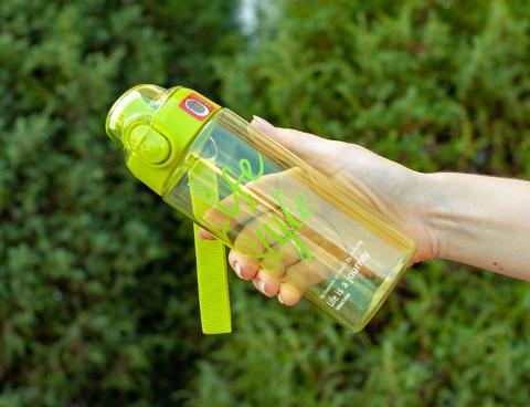 Бутылка POWCAN - 500 мл. Life Style - Салатовый