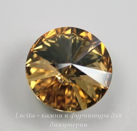 1122 Rivoli Ювелирные стразы Сваровски Crystal Golden Shadow (SS47) 10,54-10,9 мм ()