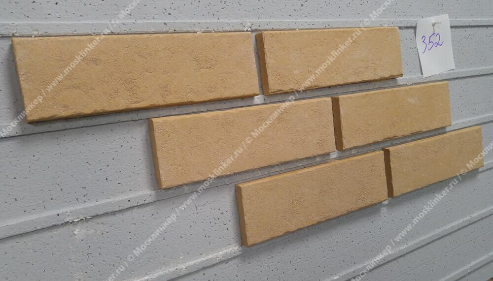 Stroeher - 352 kupferschmelz, Zeitlos, состаренная поверхность, ручная формовка, 240x71x14 - Клинкерная плитка для фасада и внутренней отделки
