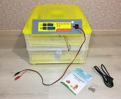 """Автоматический инкубатор на 96 яиц с термометром, влагомером и автопереворотом """"SITITEK 96"""""""