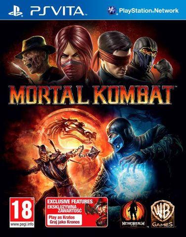 Sony PS Vita Mortal Kombat Ultra (английская версия)
